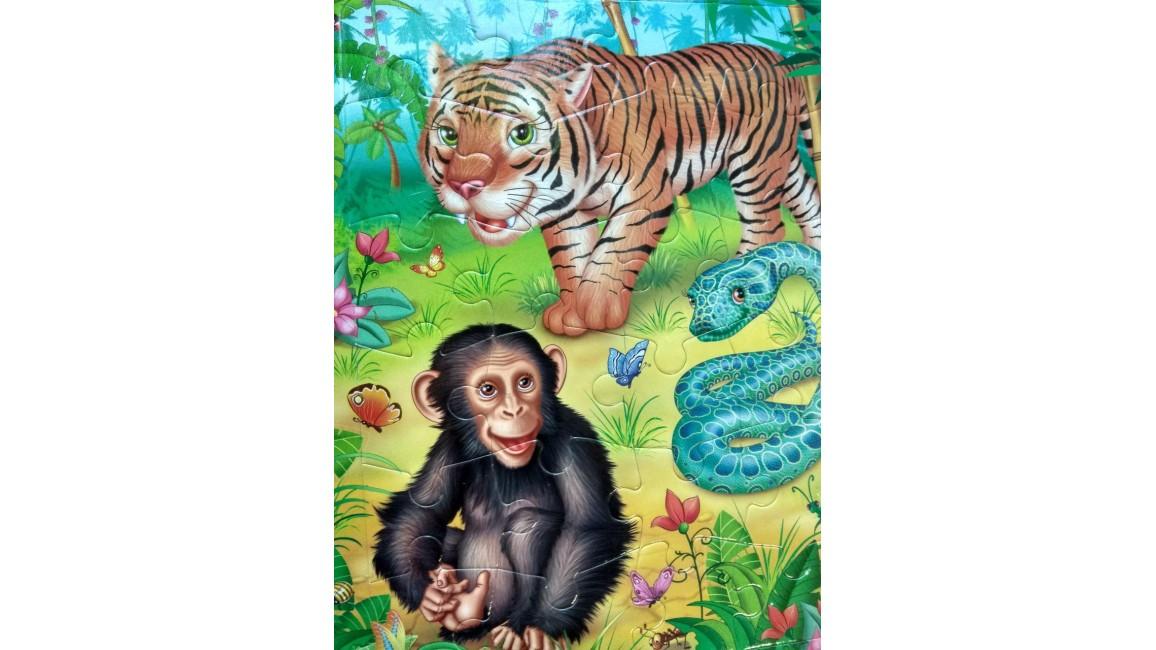 Улюблені тварини. Пазли 6 шт