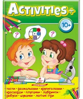 Activities 10+, розвиваючі та логічні завдання