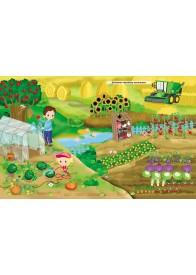 Ферма. Моя перша книжка наліпок