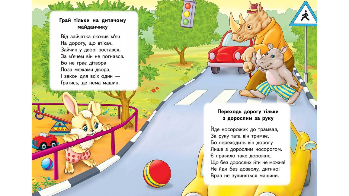 Правила безпеки на вулицію Розвивайко