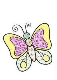 Водні розмальовки (метелик)
