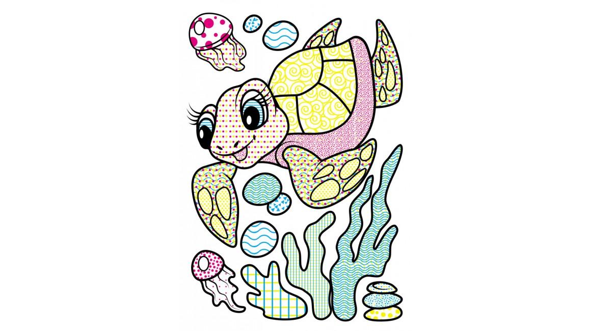 Водні розмальовки. Дельфін