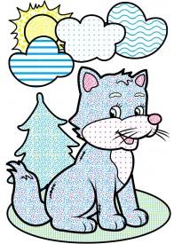 Водные раскраски (лисица)