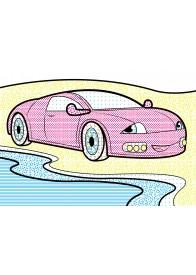 Водные раскраски (самосвал)