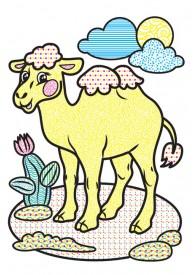 Водні розмальовки (слон)